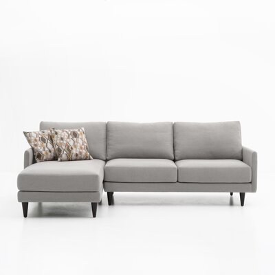 Costin Sectional Color: Gray, Orientation: Left Hand Facing