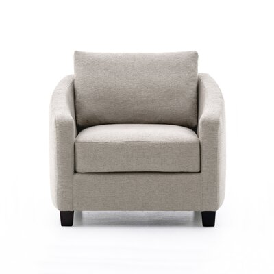 Lininger Chair Upholstery: Light Gray
