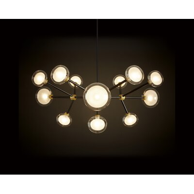 Tooy Nabila 12-Light Sputnik Chandelier