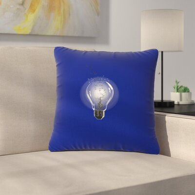 BarmalisiRTB Bulb Outdoor Throw Pillow Size: 18 H x 18 W x 5 D