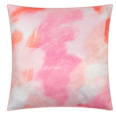 Denpasar Splash Throw Pillow Color: Blush