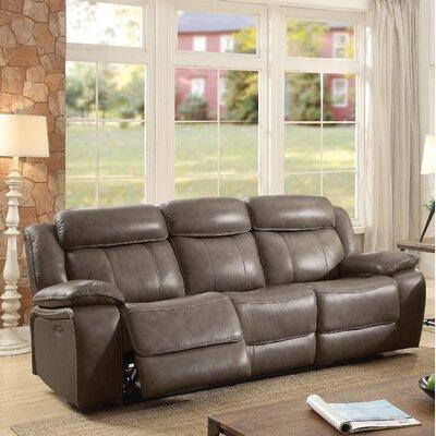 Rangel Genuine Leather Reclining Sofa