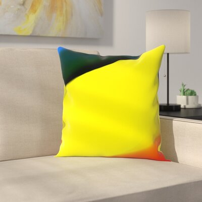 Kasi Minami Abstract Throw Pillow Size: 16 x 16