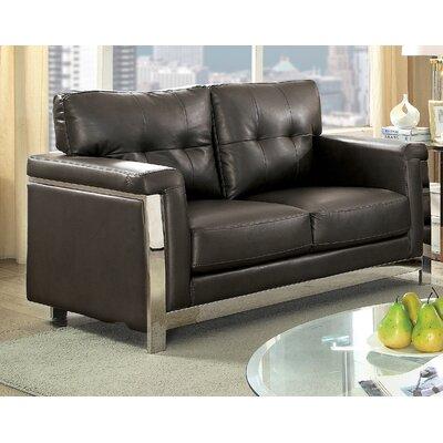 Sandford Loveseat Upholstery: Gray