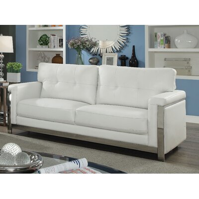 Sandford Sofa Upholstery: White
