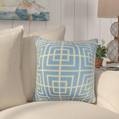 Galveston Geometric Cotton Throw Pillow