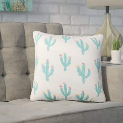 Clarissa Cacti Reversible Throw Pillow