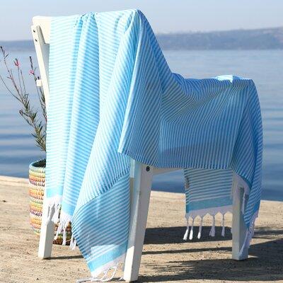 Soft Pestemal Beach Towel Color: Turquoise