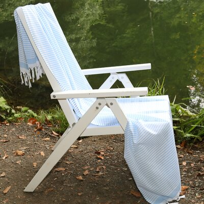 Soft Pestemal Beach Towel Color: Sky Blue