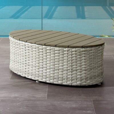 Costanzo Weather Resistant Resin Wicker Coffee Table 777 Product Pic