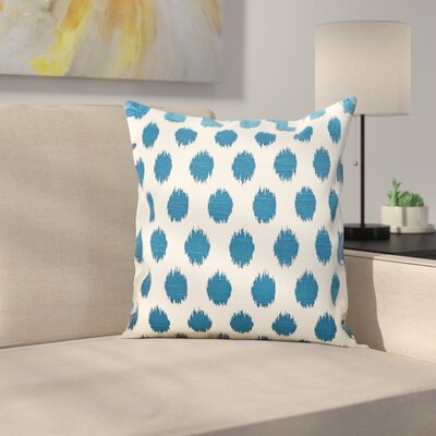 Pursel Cotton Throw Pillow Color: Aquarius, Size: 18 H x 18 W