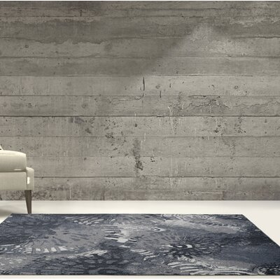 Toronto Casa Loma Cream/Gray Area Rug Rug Size: Rectangle 710 x 106