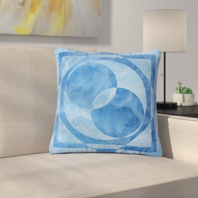 Matt Eklund Seafoam Geometric Outdoor Throw Pillow Size: 18 H x 18 W x 5 D