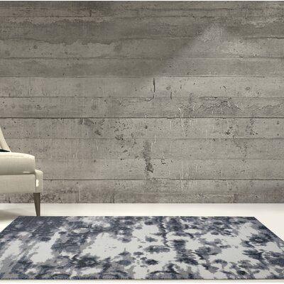 Toronto Oakridge Cream/Gray Area Rug Rug Size: Rectangle 53 x 76