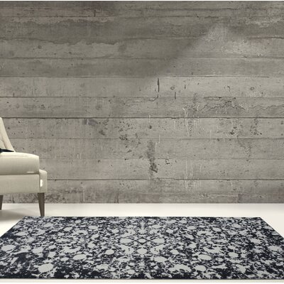 Toronto Hamilton Gray Area Rug Rug Size: Rectangle 27 x 411