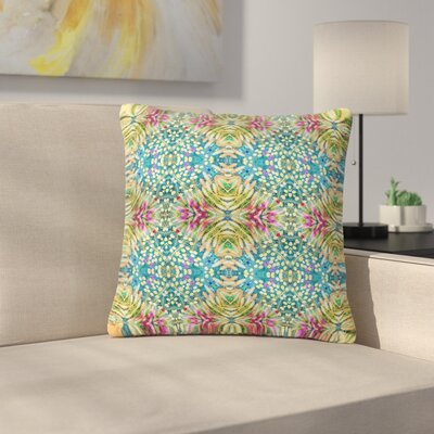 Laura Nicholson Prairie Dazzler Floral Outdoor Throw Pillow Size: 18 H x 18 W x 5 D