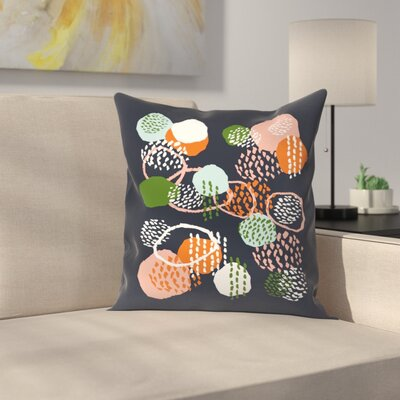 Charlotte Winter Jonlee Throw Pillow Size: 14 x 14