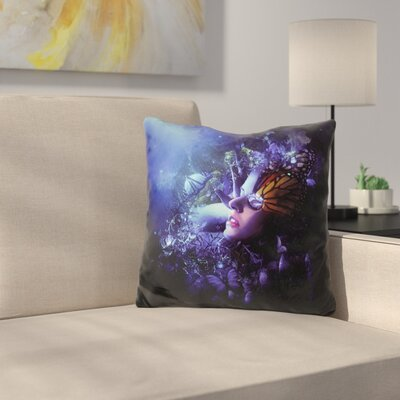 Last Travel of The Butterflies Throw Pillow