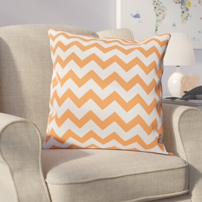 Milo Decorative Throw Pillow Size: 20 H x 20 W, Color: Celosia Orange