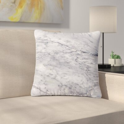 Marble Outdoor Throw Pillow Size: 18 H x 18 W x 5 D
