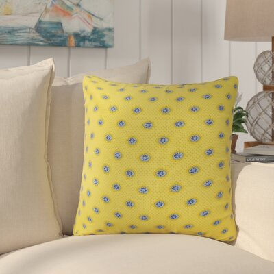 Ila Graphic Down Filled 100% Cotton Throw Pillow Size: 18 x 18