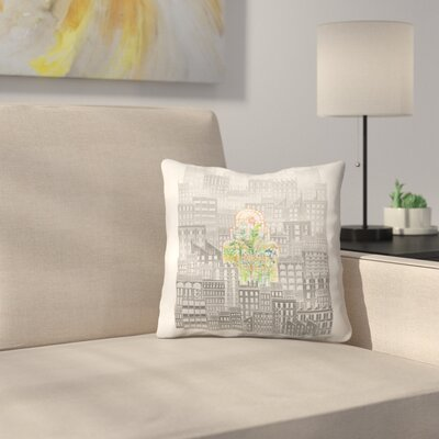 Eva Throw Pillow Size: 20 x 20