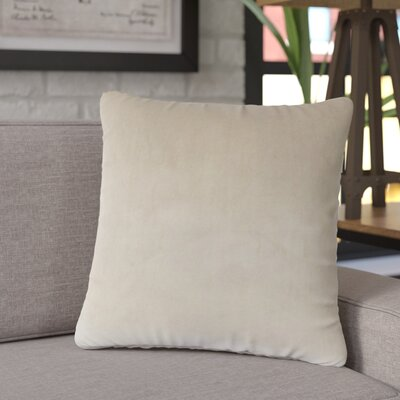 Joseline Velvet Pillow Cover Size: 18 H x 18 W x 5 D, Color: Coffee