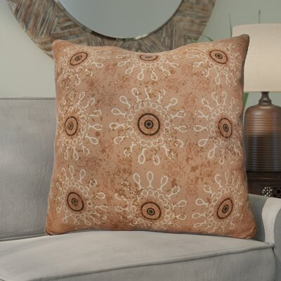 Clarence Geometric Euro Pillow Color: Taupe
