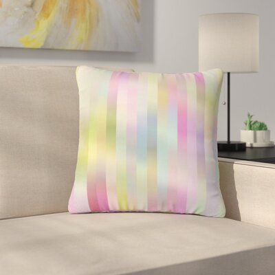 Dawid Roc Sweet Lines 1 Outdoor Throw Pillow Size: 18 H x 18 W x 5 D
