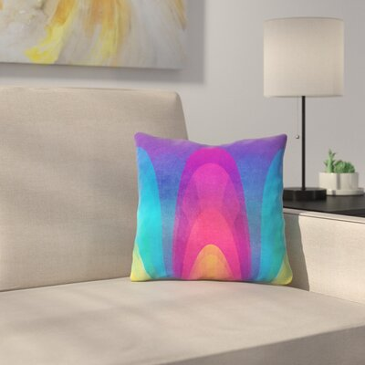 Tracie Andrews Chroma02 Throw Pillow Size: 18 x 18