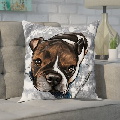 Cobbie Dog Throw Pillow