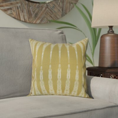 Arlo Geometric Throw Pillow Size: 26 H x 26 W, Color: Gold
