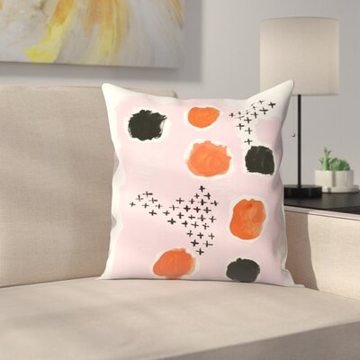 Charlotte Winter Uma Throw Pillow Size: 16 x 16