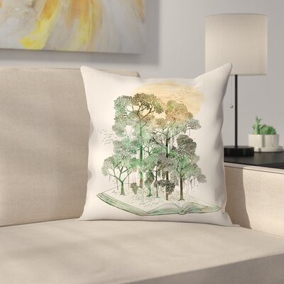 Jungle Book Throw Pillow Size: 16 x 16