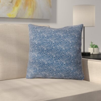 Camilla Foss Circles Throw Pillow Size: 16 x 16