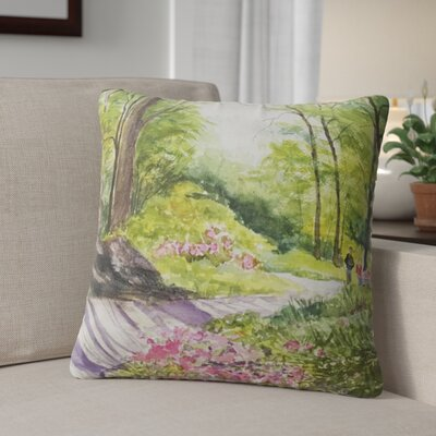 Leeann Throw Pillow Size: 24 H x 24 W x 6 D