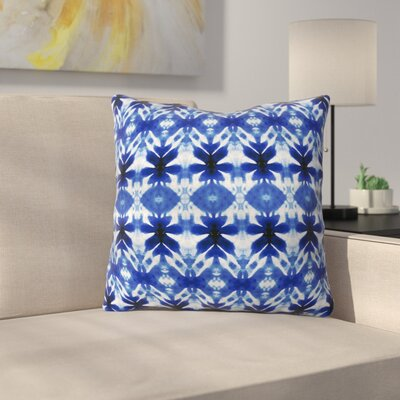 Wagner Campelo Shibori Tribal Throw Pillow Size: 18 x 18