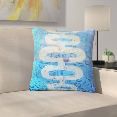 AlyZen Moonshadow Arcane 1 Abstract Outdoor Throw Pillow Size: 18 H x 18 W x 5 D
