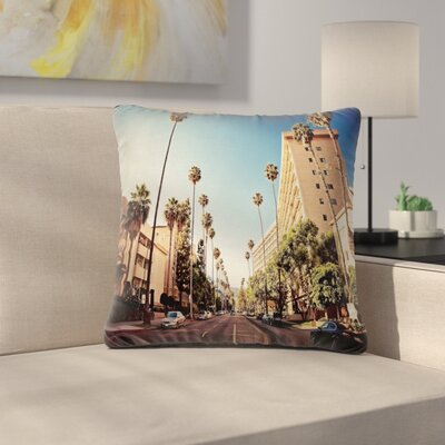 Street View Pillow Cover Size: 24 x 24