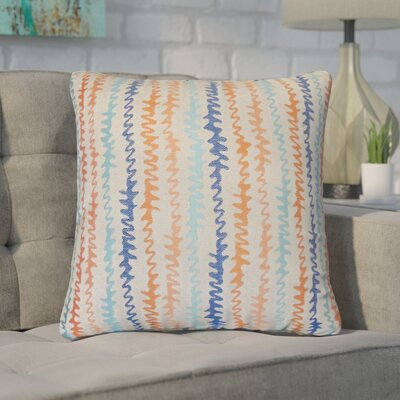 Dozier Zigzag Throw Pillow Color: Harvest