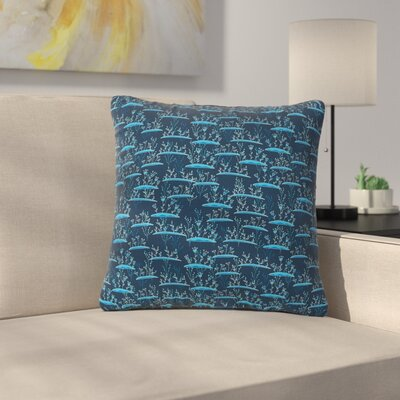 Alisa Drukman The Blades of Grass Abstract Outdoor Throw Pillow Size: 18 H x 18 W x 5 D
