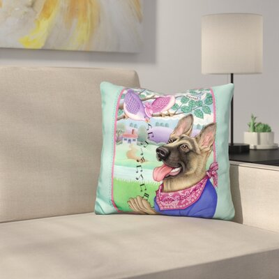 Shepherd Music Throw Pillow