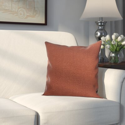 Danvers Indoor/Outdoor Pillow Fabric: Brick