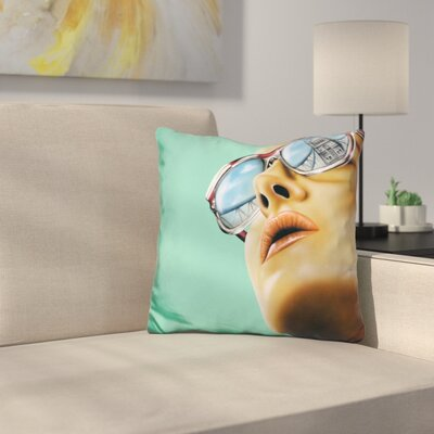 Anywhere But Home Throw Pillow