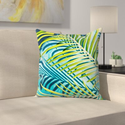 Maja Hrnjak Palm Throw Pillow Size: 14 x 14