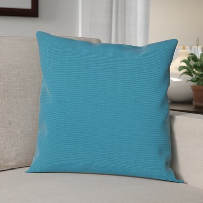 Nagda Wicker Woven Decorative Pillow Cover Color: Blue