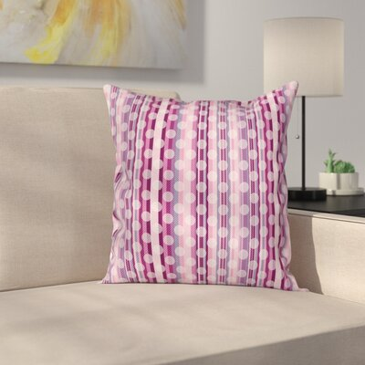 Circular Stripe Pillow Cover Size: 24 x 24