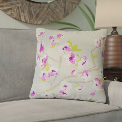 Arnot Floral Throw Pillow Color: Blossom