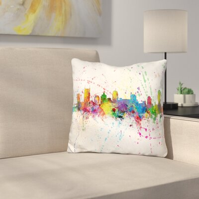 Nashville Tennessee Throw Pillow