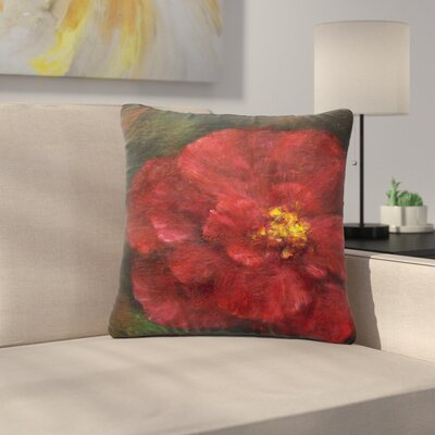 Cyndi Steen My Beauty Outdoor Throw Pillow Size: 18 H x 18 W x 5 D